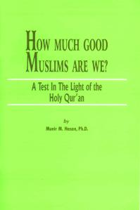 How much good muslims we are